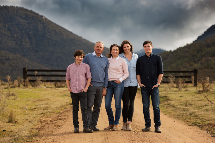 Hyles family portrait