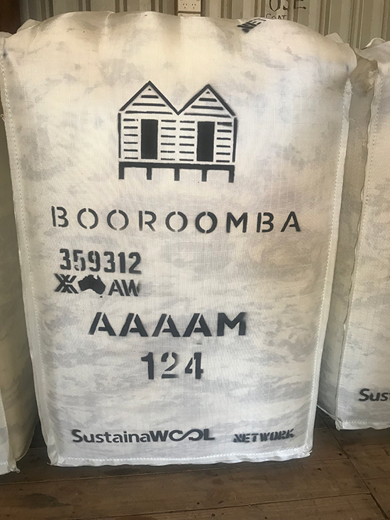 booromba wool bag